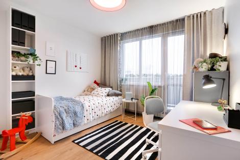 3 istabu dzīvoklis, Mežaparka 1